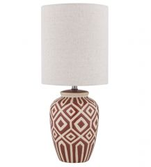 **Denning Red YITLAM505  Table Lamp