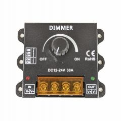 Inline Dimmer Unit - 300w 12vDC - Wired