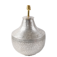 Silver Plated Urn LAM223 Lamp BASE ONLY