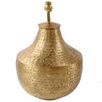 Gold Plated Urn LAM225 Lamp BASE ONLY