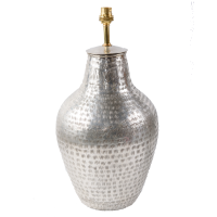 Silver Plated Vase LAM232 Lamp BASE ONLY