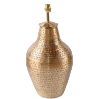 Gold Plated Vase LAM233 Lamp BASE ONLY