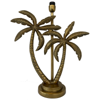 Double Palm Tree LAM243 Ant Gold BASE ONLY