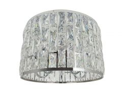 Ailia Imports Neve Close To Ceiling Crystal Chandelier