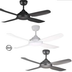 Ventair Spinika 1300mm Ceiling Fan - No light - 3 Colours